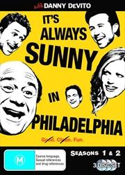 It's Always Sunny In Philadelphia - Seasons 1 and 2 | DVD