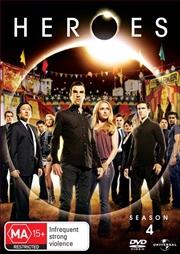 Heroes - Season 4 | DVD