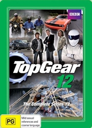 Top Gear: The Complete Series 12 (Steel Book) | DVD