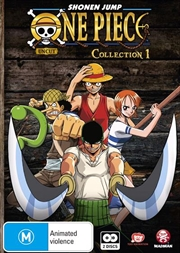 One Piece - Uncut - Collection 01 Eps 01-13