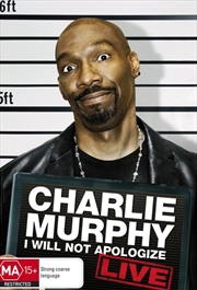Charlie Murphy - I Will Not Apologize - Live | DVD