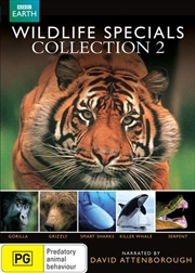 David Attenborough: Wildlife Specials - Collection 2