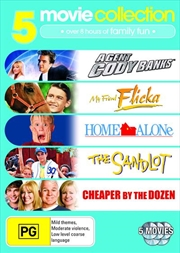 Agent Cody Banks / My Friend Flicka / Home Alone / The Sandlot / Cheaper By The Dozen | DVD