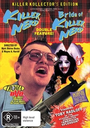 Killer Nerd / Bride Of Killer Nerd | DVD