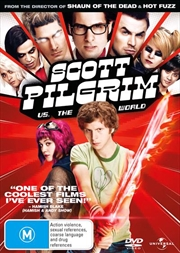 Scott Pilgrim Vs The World | DVD