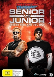 American Chopper - Senior Vs Junior - Collection 1 | Limited Edition Bonus T-Shirt