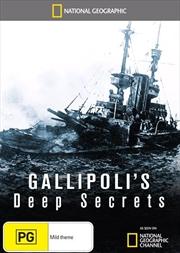 National Geographic: Gallipoli's Deep Secrets   DVD