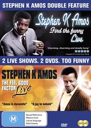 Stephen K Amos  (Double Pack) | DVD