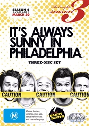 It's Always Sunny In Philadelphia - Season 3 | DVD