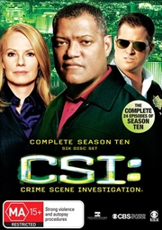 CSI: Crime Scene Investigation - Season 10 | DVD