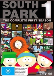 South Park - Complete Season 01 | DVD
