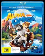Alpha And Omega | Blu-ray + DVD Combo