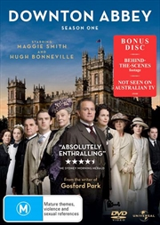 Downton Abbey - Season 1  (BONUS TEA TOWEL)