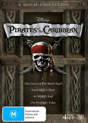Pirates Of The Caribbean - Quadrilogy | Boxset