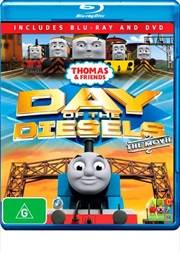 Thomas and Friends - Day Of The Diesels | Blu-ray/DVD