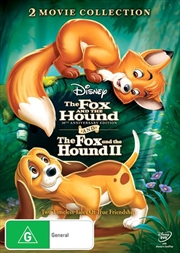 Fox And The Hound 1 & 2 Pack - 30th Anniversary Edition | DVD