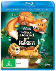 Fox And The Hound 1 & 2 Pack - 30th Anniversary Edition