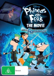 Phineas And Ferb - Across the 2nd Dimension | DVD