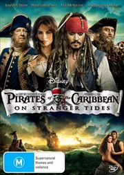Pirates Of The Caribbean - On Stranger Tides | DVD