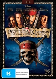 Pirates Of The Caribbean - The Curse Of The Black Pearl | DVD
