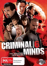 Criminal Minds - Season 6 | DVD