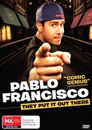 Pablo Francisco - They Put It Out There | DVD