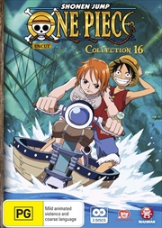 One Piece - Uncut - Collection 16 - Eps 196-205 | DVD
