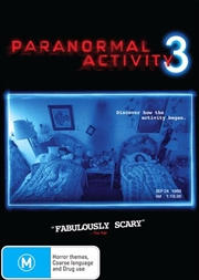 Paranormal Activity 3 | DVD