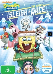 Spongebob Squarepants - The Great Sleigh Race | DVD