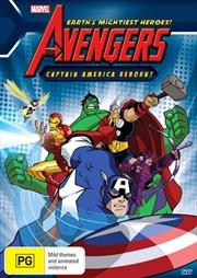Marvel - The Avengers - Captain America Reborn | DVD