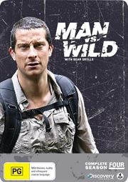 Man Vs Wild - Season 4 - Limited Edition | Metal Pack