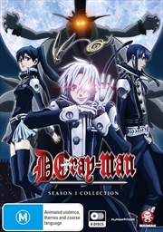 D.Gray-Man - Season 1 - Eps 1-51 | DVD