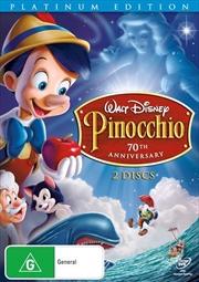 Pinocchio - Platinum Edition