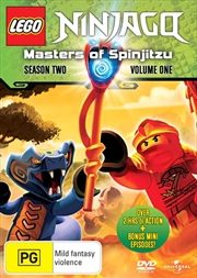 LEGO Ninjago - Masters of Spinjitzu - Series 2 - Vol 1