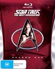 Star Trek Next Generation DVD Box Set Season 01 | Blu-ray