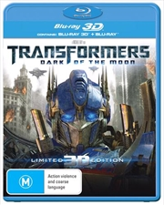 Transformers - Dark Of The Moon | 3D + 2D Blu-ray
