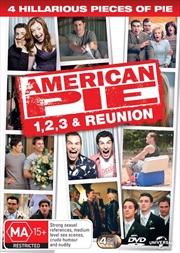 American Pie Quadrilogy - American Pie / American Pie 2 / American Pie - The Wedding / American Pie | DVD