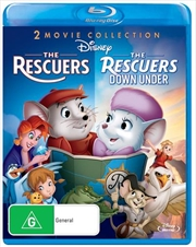 Rescuers/The Rescuers Down Under | Blu-ray