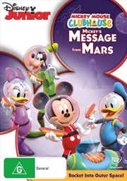 Mickey Mouse Clubhouse - Mickey's Message From Mars | DVD