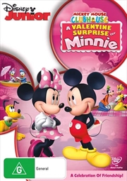 Mickey Mouse Clubhouse - A Valentine Surprise For Minnie | DVD