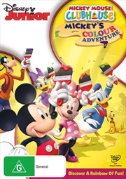 Mickey Mouse Clubhouse - Mickey's Colour Adventure | DVD