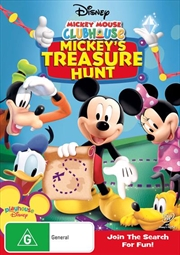 Mickey Mouse Clubhouse - Mickey's Treasure Hunt | DVD