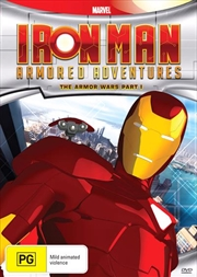 Iron Man Armored Adventures - The Armor Wars - Part 1 | DVD