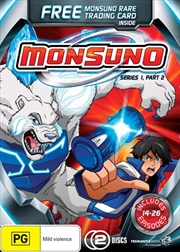 Monsuno - Series 1 - Part 2 | Gwp Ltd | DVD