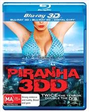 Piranha 3DD | 3D + 2D Blu-ray + Digital Copy