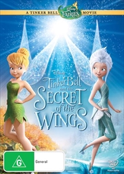 Tinkerbell and The Secret Of The Wings | DVD