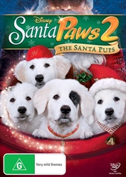 Santa Paws 2 - The Santa Pups | DVD