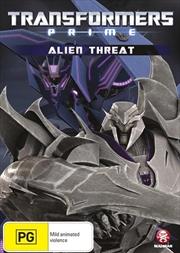 Transformers - Prime - Alien Threat - Vol 3 | DVD