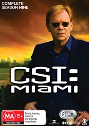 CSI: Miami - Season 09 | DVD