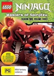 LEGO Ninjago - Masters of Spinjitzu - Series 2 - Vol 3